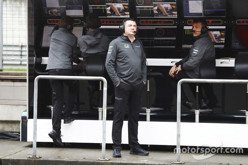 Eric Boullier, Racing Director McLaren