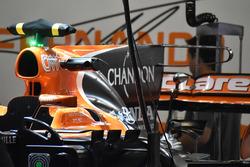 Detalle del T-wing del McLaren MCL32