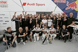Mattias Ekström, EKS, Audi S1 EKS RX Quattro with team