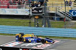 Sieg für Alexander Rossi, Herta - Andretti Autosport Honda