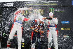 Podium: RX2 with Cyril Raymond, Olsbergs MSE