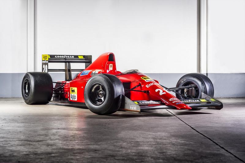 1989 Ferrari 640 F1 - Gerhard Berger