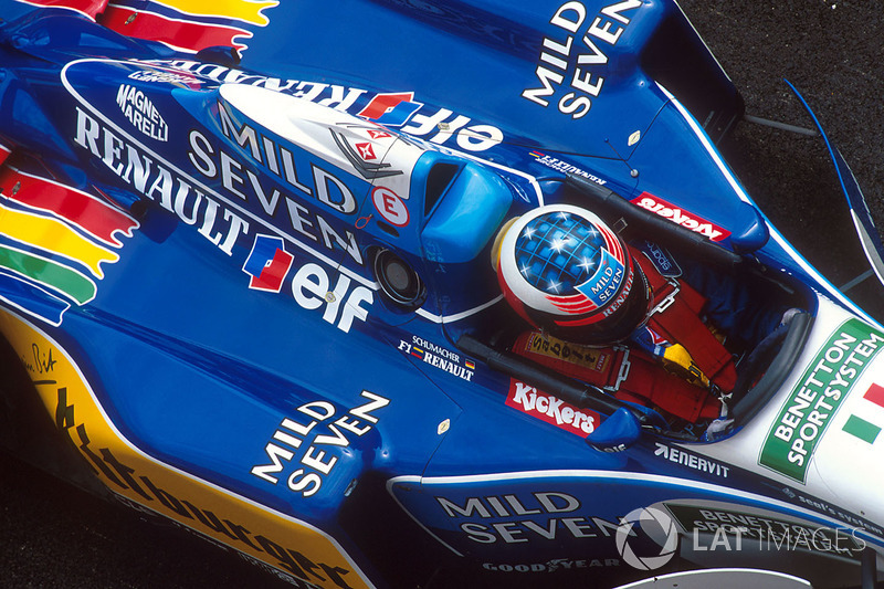 #7 GP de Saint-Marin 1995 (Benetton B195)
