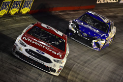 Ryan Blaney, Wood Brothers Racing Ford, Joey Gase, BK Racing Toyota
