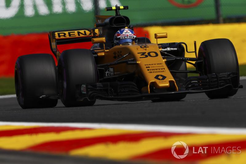 10. Jolyon Palmer, Renault Sport F1 Team RS17