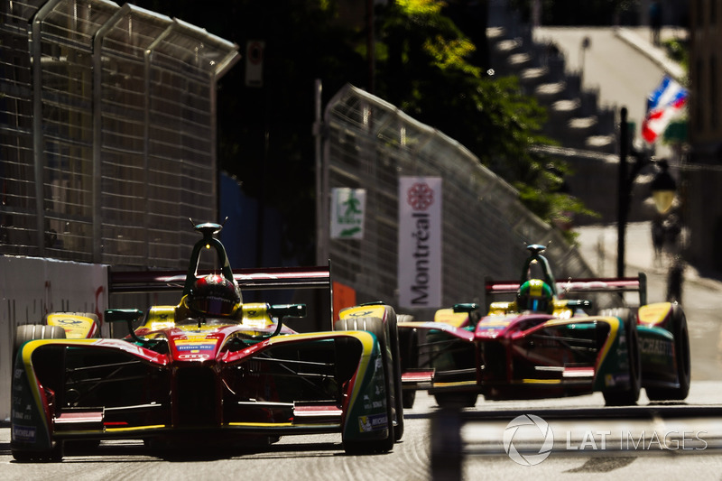 Daniel Abt, ABT Schaeffler Audi Sport y Lucas di Grassi, ABT Schaeffler Audi Sport