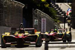 Daniel Abt, ABT Schaeffler Audi Sport, devance Lucas di Grassi, ABT Schaeffler Audi Sport