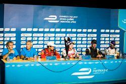 Alain Prost, Jean Paul Driot, Lucas di Grassi, ABT Schaeffler Audi Sport, Felix Rosenqvist, Mahindra