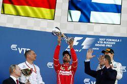 Segundo, Sebastian Vettel, Ferrari