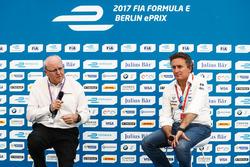 Alejandro Agag, CEO Formula E nella conferenza stampa