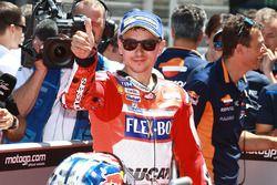 Il secondo qualificato Jorge Lorenzo, Ducati Team
