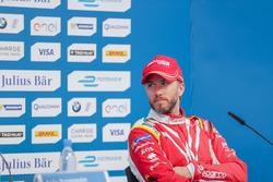 Nick Heidfeld, Mahindra Racing, nella conferenza stampa