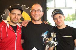 Marcel Maurer, Philip Egli, Joel Burgermeister, podium