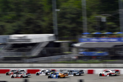 Kyle Benjamin, Joe Gibbs Racing, Toyota; Ryan Blaney, Team Penske, Ford