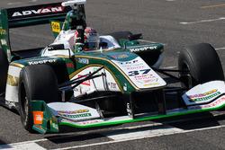 Race winner Kazuki Nakajima, Team Tom's