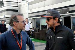 Jacques Villeneuve, Sky Italia, Fernando Alonso, McLaren