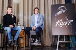 Daniil Kvyat y Oleg Karpov