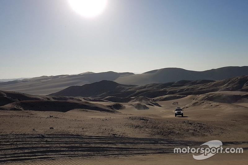 Etapa 1: 6 de enero, Lima (Perú) – Pisco 272 km (31 cronometrados)
