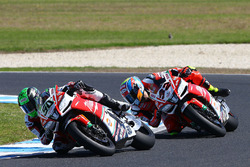 Eugene Laverty, Milwaukee Aprilia World Superbike Team, Lorenzo Savadori, Milwaukee Aprilia World Superbike Team