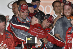 Ryan Reed, Roush Fenway Racing Ford, celebrates in Victory Lane