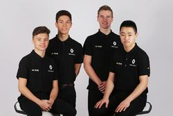 Renault Sport Academy Drivers, Jack Aitken, Jarno Opmeer, Sun Yue Yang