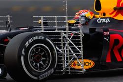 Max Verstappen, Red Bull Racing RB13 funcionamiento equipo de sensor