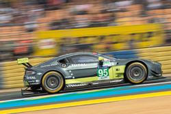 #95 Aston Martin Racing, Aston Martin Vantage: Nicki Thiim, Marco Sorensen, Richie Stanaway