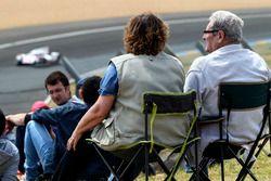 Espectadores en Le Mans