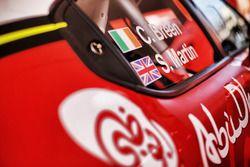 Craig Breen, Martin Scott, Citroën World Rally Team, Citroen C3 WRC, detalle del coche