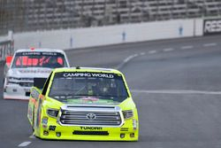 Matt Crafton, ThorSport Racing Toyota, Tyler Young, Young Motorsports Chevrolet