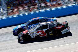 Austin Dillon, Richard Childress Racing Chevrolet und Aric Almirola, Richard Petty Motorsports Ford