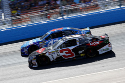 Austin Dillon, Richard Childress Racing Chevrolet and Aric Almirola, Richard Petty Motorsports Ford