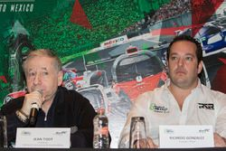 Jean Todt, FIA Präsident und Ricardo González, RGR Sport