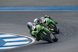 Kenan Sofuoglu, Puccetti Racing Kawasaki et Randy Krummenacher, Puccetti Racing Kawasaki