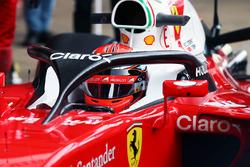 Kimi Räikkönen, Ferrari SF16-H mit Cockpitschutz
