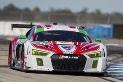 #6 Stevenson Motorsports Audi R8 LMS GT3: Andrew Davis, Robin Liddell, Connor de Phillippi