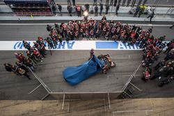 Max Verstappen, Scuderia Toro Rosso and team mate Carlos Sainz Jr., Scuderia Toro Rosso unveil the Scuderia Toro Rosso STR11 livery