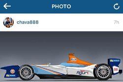 Gulf Racing, Team Aguri, ipotesi livrea