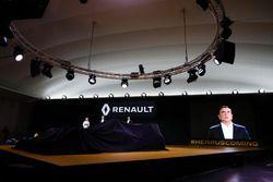 Carlos Ghosn Renault President en Jerome Stoll, Renault Sport F1 president