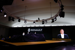 Carlos Ghosn, Präsident Renault und Jerome Stoll, Renault Sport F1 Präsident