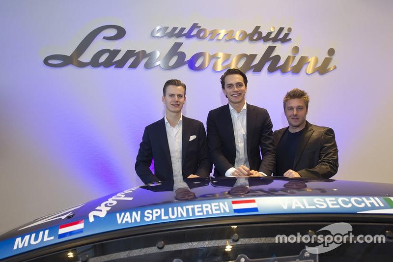 Jeroen Mul, Max van Splunteren, Davide Valsecchi