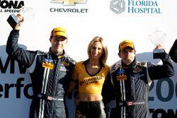 Podio, #15 Multimatic Motorsports Mustang Boss 302R: Billy Johnson, Scott Maxwell