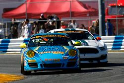 #13 Rum Bum Racing Porsche 997: Matt Plumb, Hugh Plumb and #15 Multimatic Motorsports Mustang Boss 3