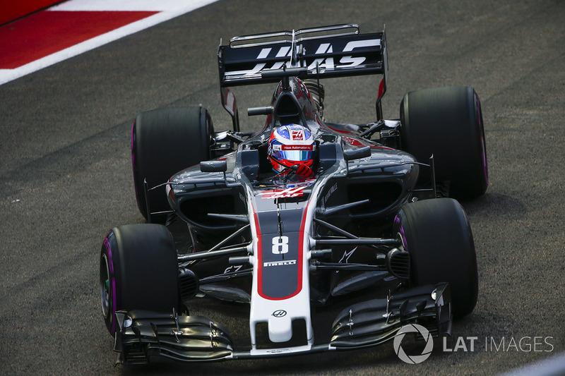9e : Romain Grosjean (Haas F1 Team)