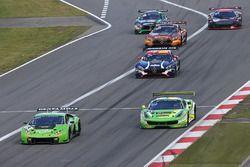 #19 GRT Grasser Racing Team Lamborghini Huracan GT3: Andrea Caldarelli, Ezequiel Perez Companc, #333