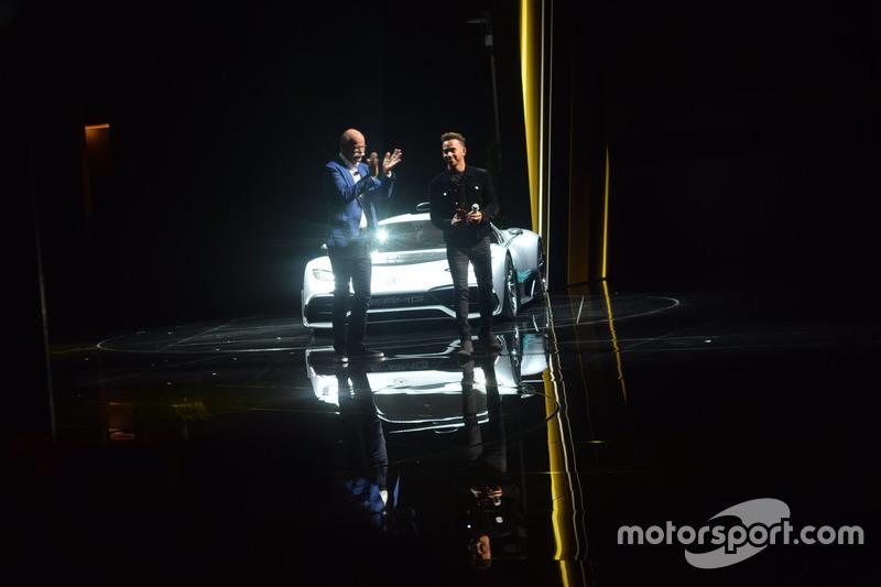 Presentazione con Lewis Hamilton