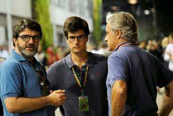 Luis Garcia Abad, Manager van Fernando Alonso, Carlos Sainz