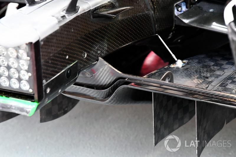 Ferrari SF70H, Heckdiffusor, Detail