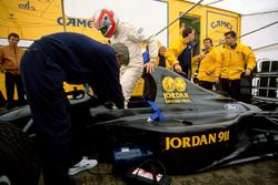 John Watson, Jordan 911 Ford, Gary Anderson, Andy Stevenson