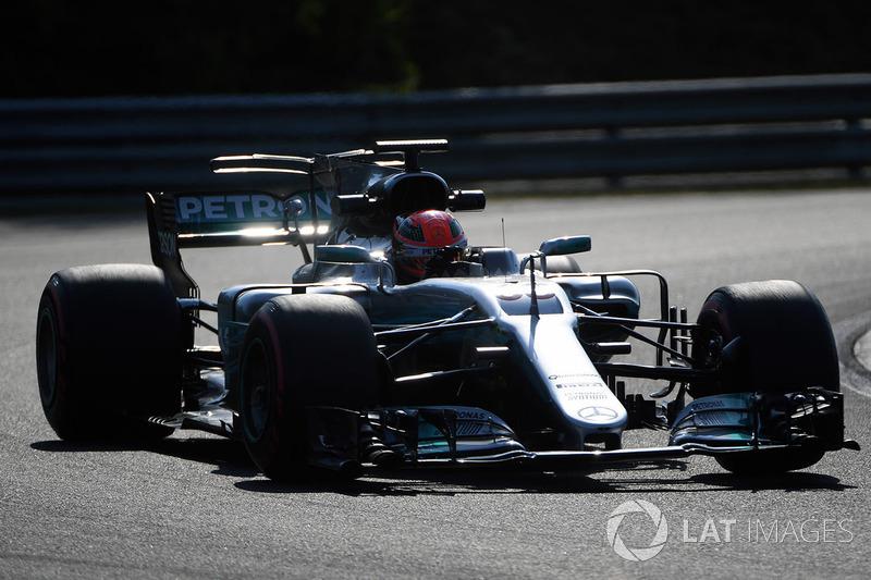 Джордж Расселл, Mercedes-Benz F1 W08 Hybrid